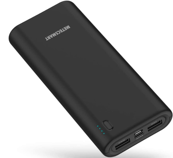 Metecsmart Portable Fast Charger, 20000mAh External Charger