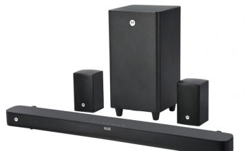 Motorola Launches New AmphisoundX Soundbars Starting at Rs.7,499