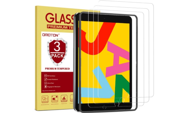 OMOTON [3 Pack] Screen Protector for iPad 8th