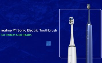 Realme M1 Sonic Electric Toothbrush to Launch on September 3 in India