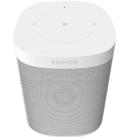 Sonos One (Gen 2) - Voice Controlled Smart Speaker with Amazon Alexa Built-In