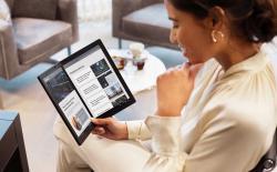 ThinkPad X1 Fold website