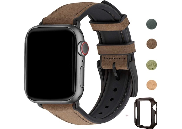 WFEAGL Compatible with Apple Watch Band 42mm 44mm