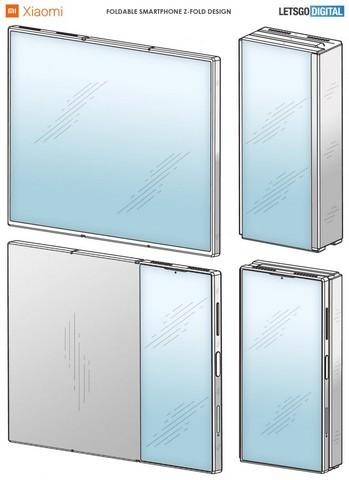 Xiaomi patent foldable device 3