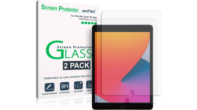 amFilm Screen Protector for iPad 8