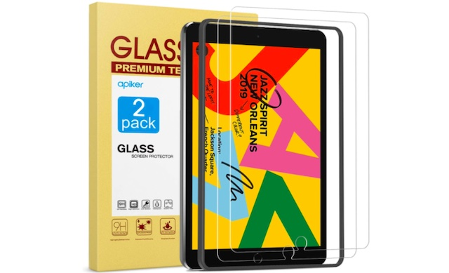 apiker Tempered Glass Screen Protector Compatible with Apple Pencil