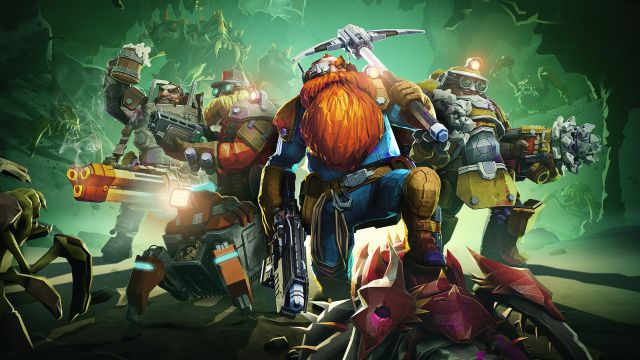 9. Deep Rock Galactic