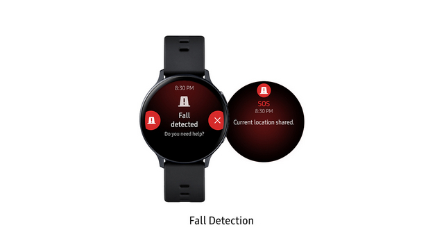 galaxy watch active 2 fall detection