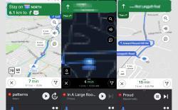 google maps new navigation ui car mode