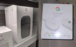 google nest audio and chromecast with google TV retail packaging leaked