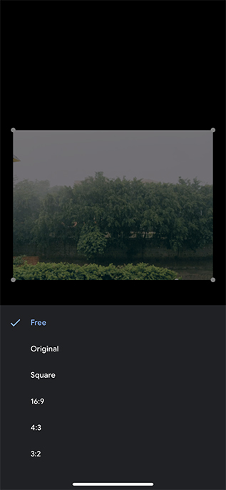 google photos new video editor ios crop feature