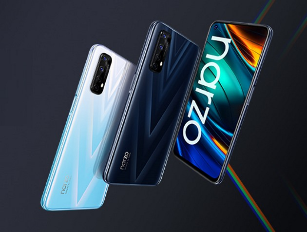 Realme Narzo 20 Pro, Narzo 20, & Narzo 20A Launched in India; Price Starting at Rs. 8,499