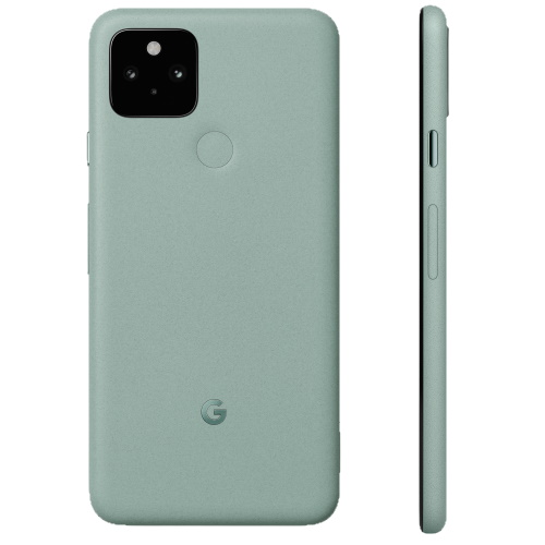 pixel 5 green back