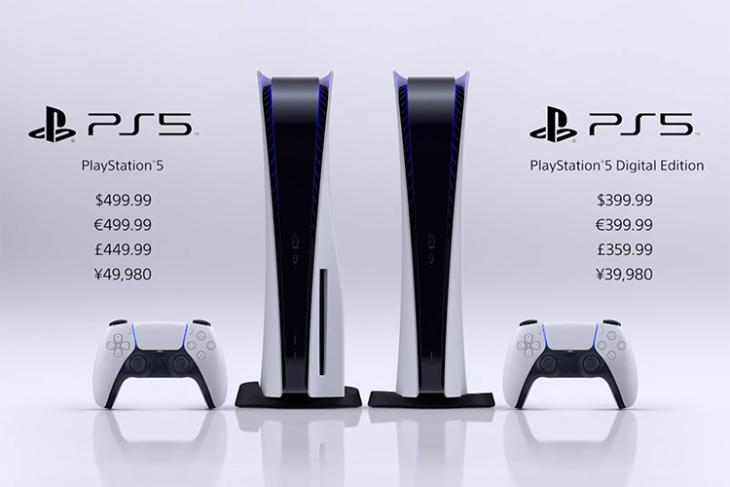 playstation 5 price announced