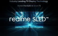 realme 4K SLED TV launching soon