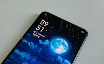 realme under-display camera phone