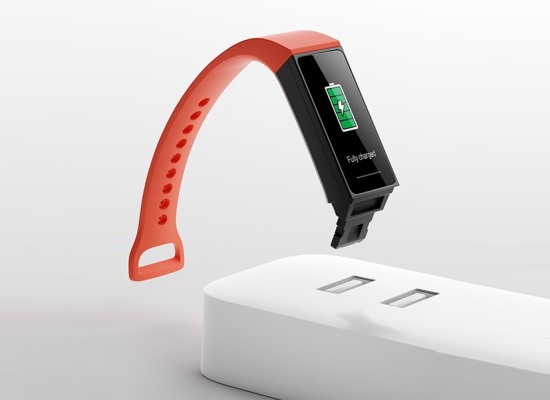redmi smart band charging