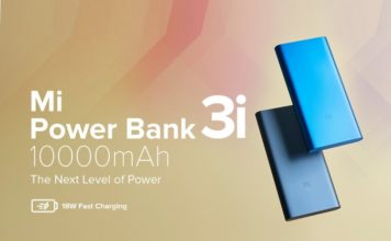 xiaomi launches mi power bank 3i india