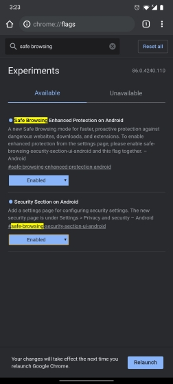 How to Enable Enhanced Safe Browsing on Chrome for Android