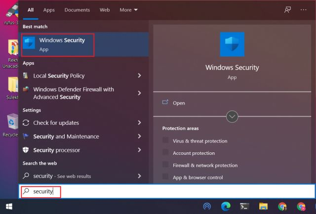Exclude Files and Folders from Windows Defender