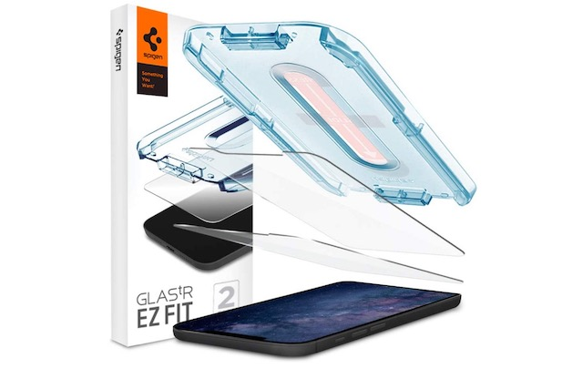 1. Spigen Tempered Glass Screen Protector