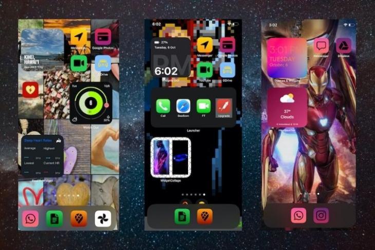 10 Creative iOS 14 Home Screen Ideas Designs Widgets