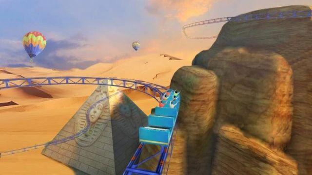 12. VR Roller Coaster Best Google Cardboard Apps and Games