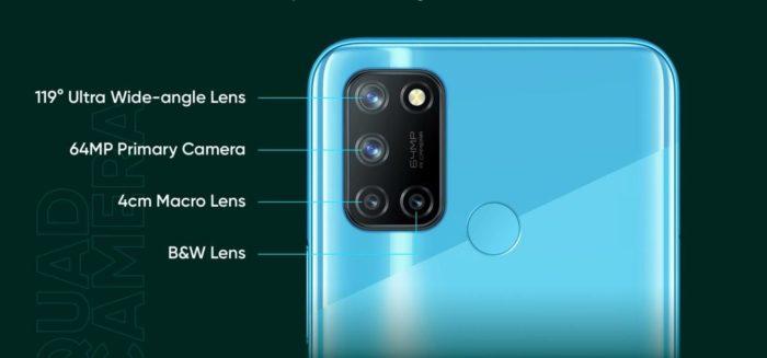 realme 7i cameras