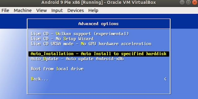 Run Android on Linux Using Virtual Machine