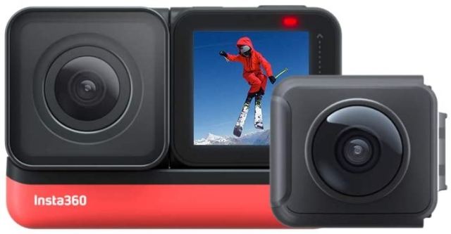 8. Insta360 ONE R GoPro Hero 8 Black Alternatives