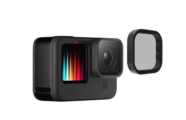 2. TELESIN Polarizing Lens Filter for GoPro Hero 9 Black
