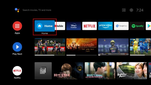 Install Google TV on Android TV