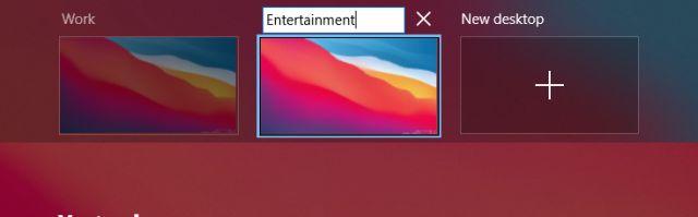 8. Virtual Desktop