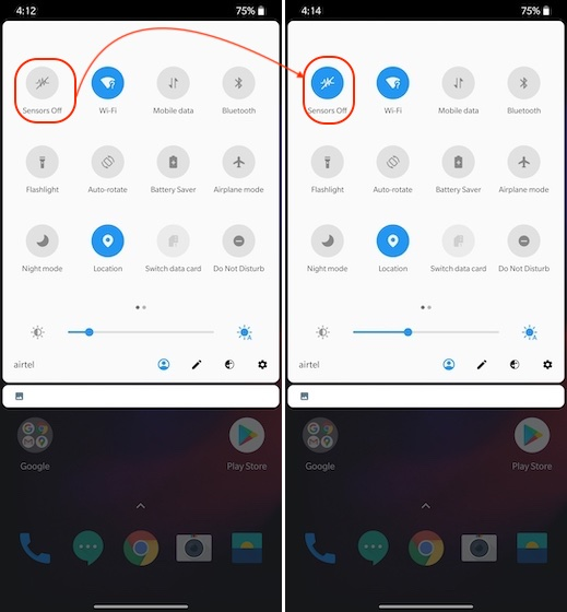 4. Turn Off Tracking Sensors on Android Smartphone