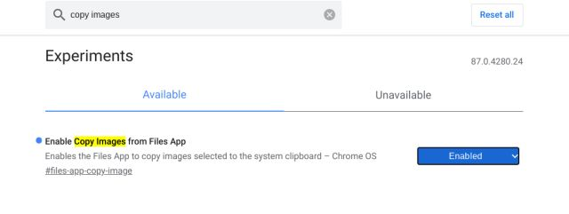 Enable Clipboard History on a Chromebook