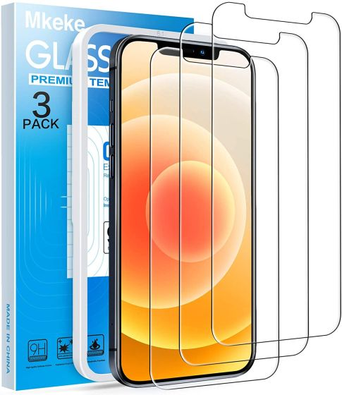 5. Mkeke Best iPhone 12 Pro Screen Protector