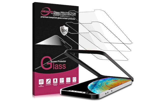 5. OEAGO Glasas Screen Protector for Apple iPhone 12 Mini(