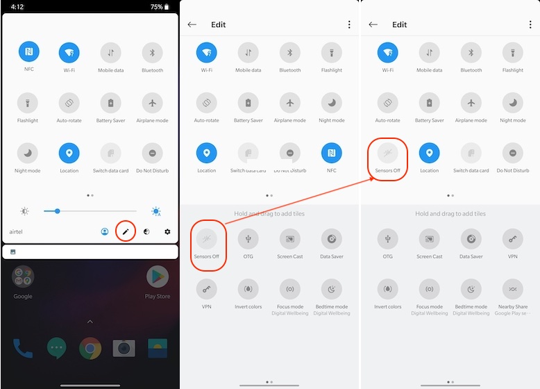5. Turn Off Tracking Sensors on Android Smartphone