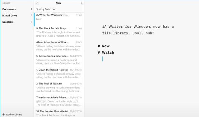28. iA Writer
