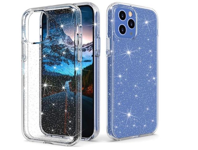 7. Thinkart Shockproof Glitter Phone Case