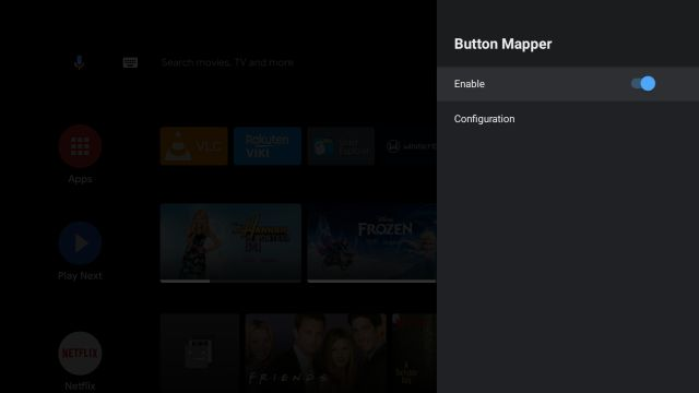 Remap the Android TV Remote