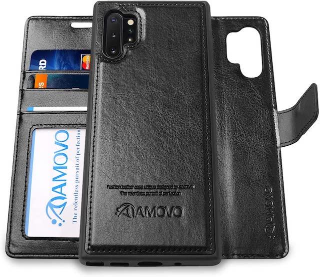 AMOVO Galaxy Note 10+ Wallet Case