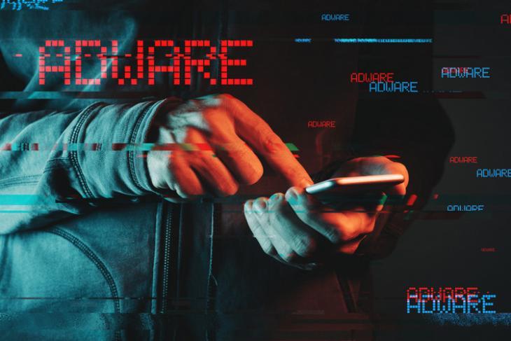 Adware Mobile shutterstock website