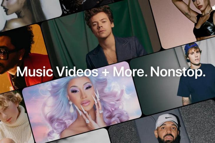 Apple Music TV website