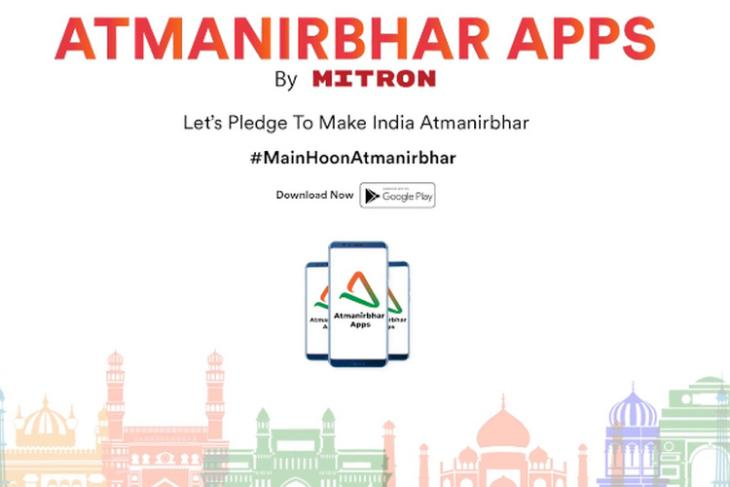 Atmanirbhar Apps by Mitron Aggregates Indian Apps