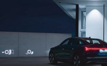 Audi digital matrix LED headlights feat.