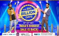 Big Billion Days 2020 website