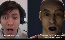 C-face facial tracking headphones feat.