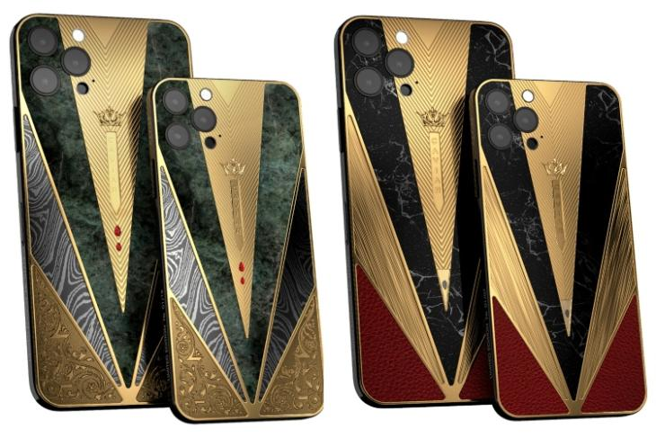 Caviar warrior collection feat. iPhone 12 series