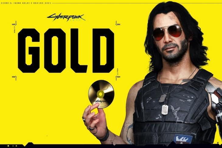 Cyberpunk 2077 goes gold feat.
